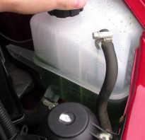 Большое давление в системе охлаждения двигателя 4216