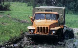 Электрическая схема урал 4320 с двигателем ямз 236