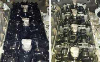 Чем промывают двигатель перед заменой масла на ауди