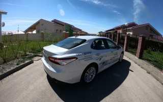 Тойота Камри 2018 v60 стиллавин большой тест драйв