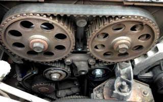 Через сколько менять грм на приоре двигатель 21126