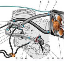 Датчик температуры двигателя в системе охлаждения ваз