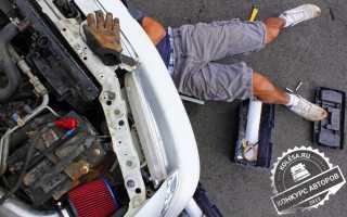 Безопасные приемы работы при то и ремонте двигателя