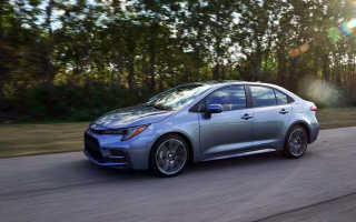 Обновленная Toyota Corolla— первый тест-драйв