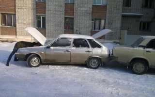 Как завести тойоту в мороз