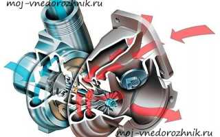 Что влияет на работу турбины в дизельном двигателе