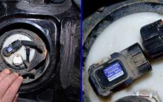 Замена топливного фильтра Тойота РАВ 4 2011 года