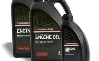 Lancer x какое масло льете в двигатель