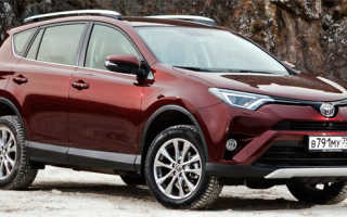 Краш-тест 2016 Toyota RAV4