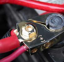 Греется провод массы от аккумулятора при запуске двигателя