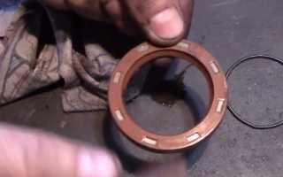 Ваз 2106 как поменять сальник в двигателе передний