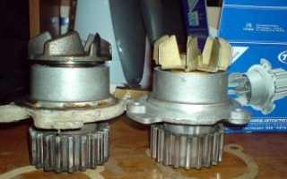 Ваз 2115 замена помпы двигатель своими руками