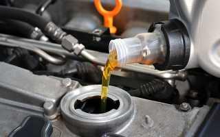 Через сколько тысяч менять масло в дизельном двигателе