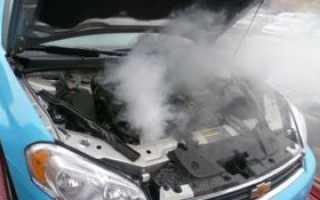 Бурлит в двигателе после того как заглушил