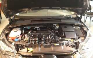 Что за двигатели ставят на форд фокус 3
