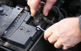 Как снять аккумулятор мазда 3