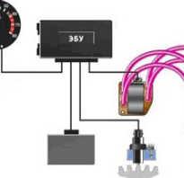Что отвечает за опережение зажигания в инжекторном двигателе