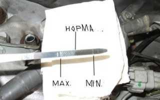 Что делать если чуть перелил масло в двигатель
