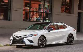 Киа оптима против Тойота Камри сравнительный тест