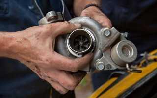 Что нужно для установки турбины на бензиновом двигателе