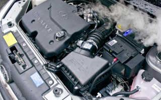 Глушитель всасывает воздух и двигатель плохо работает