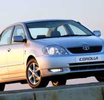 Какой класс автомобиля Тойота Королла