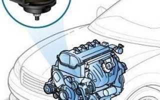 Вибрация на холостых оборотах на холодном двигателе