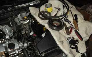 Что то стучит в двигатели при повышении оборотов