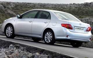 Тойота Королла 150 кузов замена топливного фильтра видео