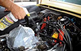 Чем промыть двигатель от нагара внутри пассат б5