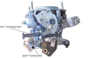 Ваз 2108 карбюратор холостой ход дергается двигатель