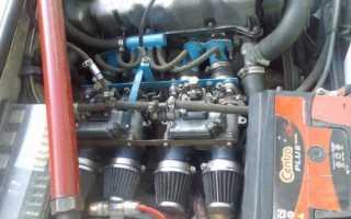 Ваз 2105 как увеличить мощность двигателя у инжектора