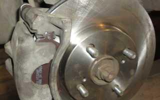 Замена тормозных дисков тойота королла