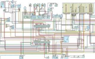 Электрическая схема газ 3102 инжектор двигатель 406 инжектор