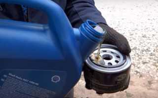 Через сколько меняют масло в двигателе лада гранта