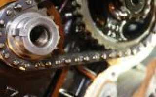 Через сколько нужно менять цепь грм в двигателе
