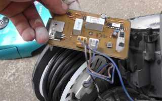 Что делать если вода попала в двигатель пылесоса