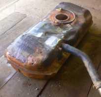 Что можно насыпать в бак чтобы накрылся двигатель