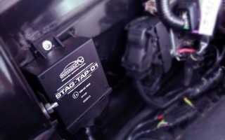Установка зажигания при работе двигателя на газу