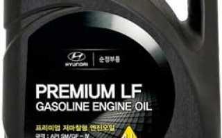 Через сколько замена масла в двигателе хендай солярис