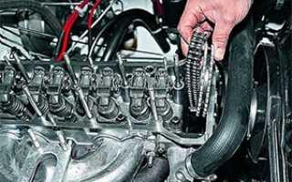 Ваз 2106 ремонт двигателя своими руками замена прокладки