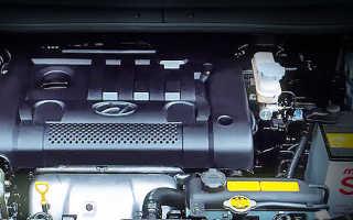 Хендай матрикс сколько нужно масла в двигатель