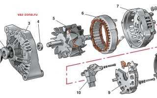 Ваз 2109 аккумулятор нет зарядки при работе двигателя