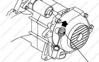 Что будет если перелил масло в двигатель скутера