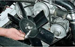 В какую сторону должен крутиться вентилятор охлаждения двигателя