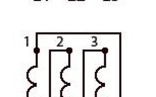 Асинхронный двигатель схема соединения обмоток число полюсов