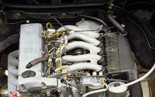 Как установить зажигание на мерседес 602 двигатель