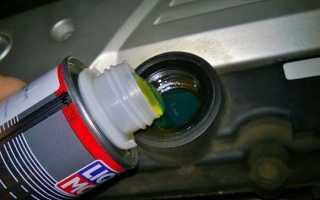 Что залить в двигатель чтобы не стучали компенсаторы