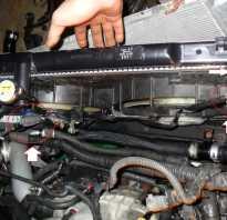Замена радиатора мазда 3