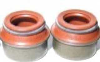 Замена маслосъемных колпачков тойота